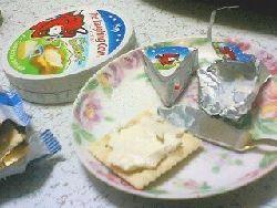 ラーフィングカウのチーズ