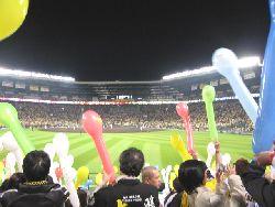 甲子園球場での阪神・巨人戦