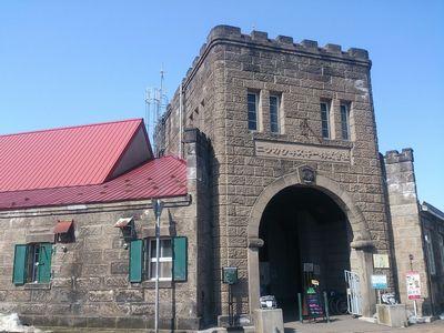 ニッカウヰスキー余市蒸留所の正門