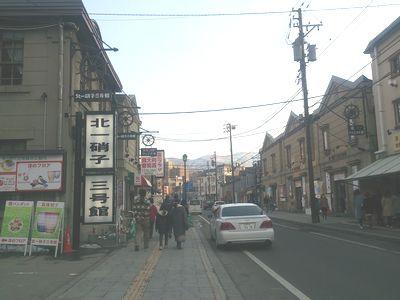 小樽堺町本通り